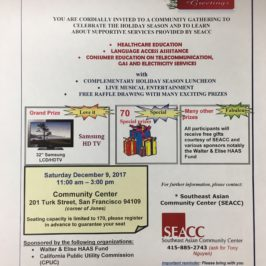 Celebrate The Holiday Season with SEACC